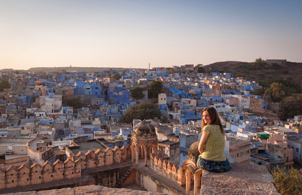 Jodhpur, the blue city!