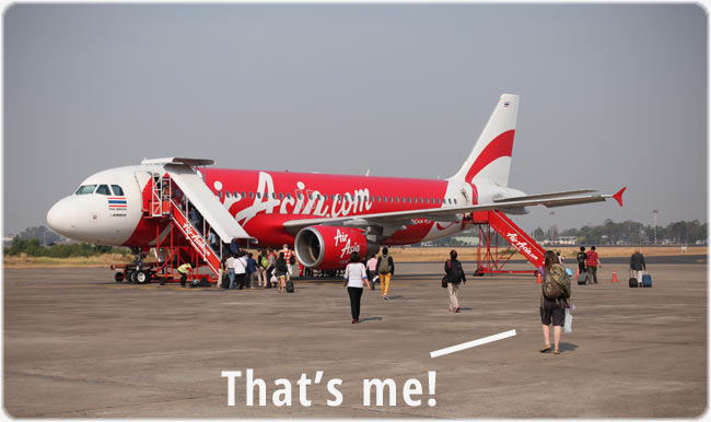 Not sponsored by Air Asia