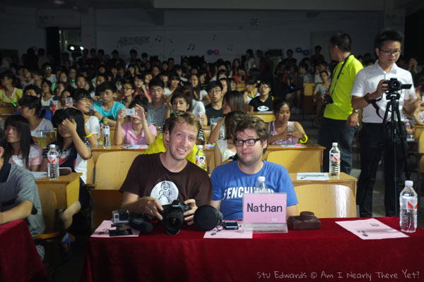 VIP judges at a random event!
