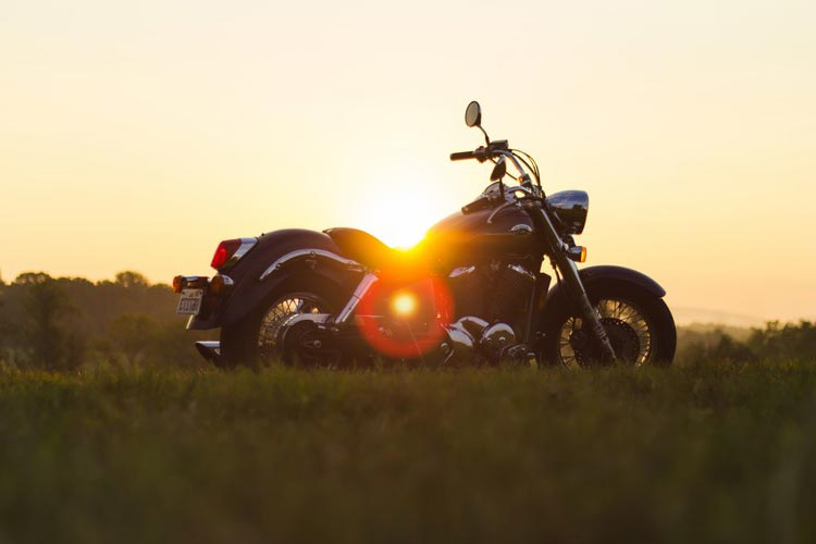 sunset harley davidson
