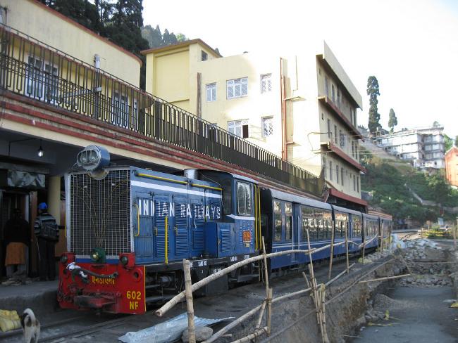 Ride the Toy Train in Darjeeling