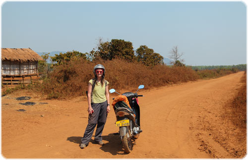 Exploring villages away from the main road