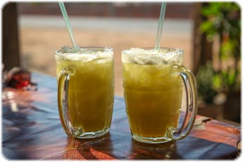 Sugar cane juice! Soo refreshing!