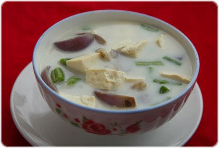 Vegetable and tofu suzie