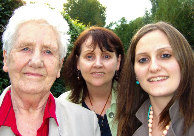 Nan, Mum and Me!