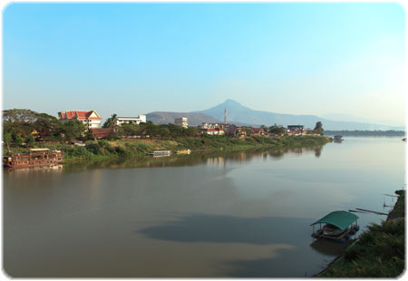 The Xe Dong leading to the Mekong