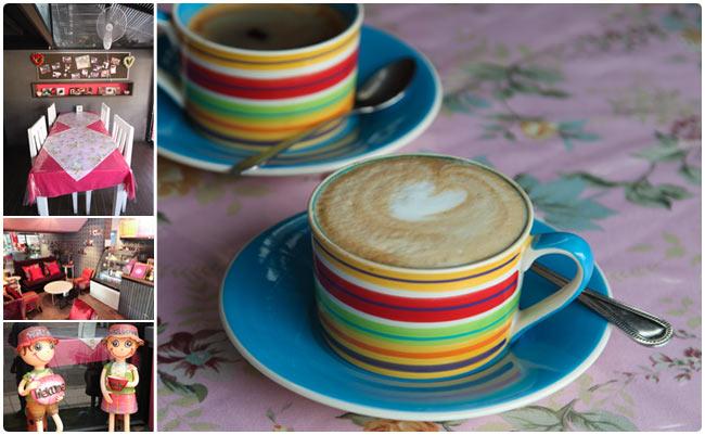 Sweet Love Coffee - Very pink!