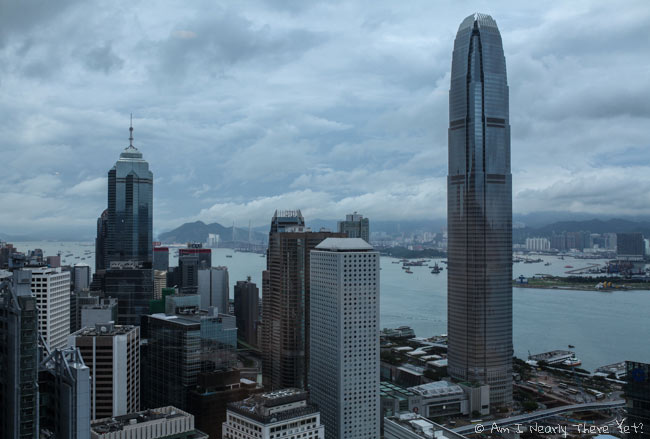 Views from the Bank of China building