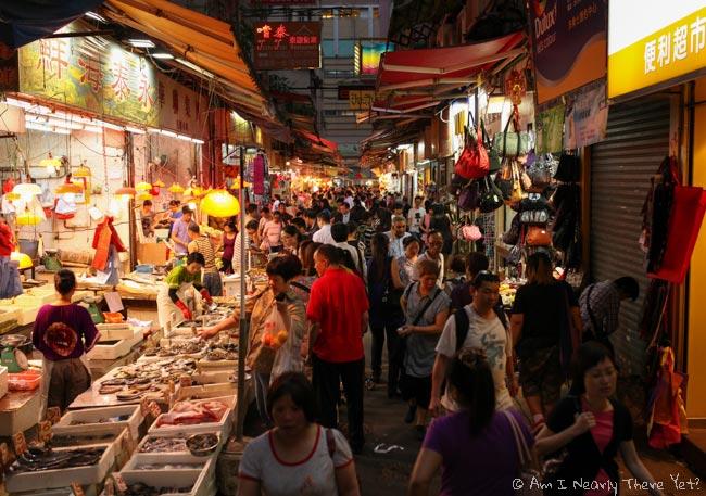 Wan Chai food markets