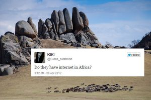 Do they have internet in Africa?