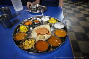 Huge thali