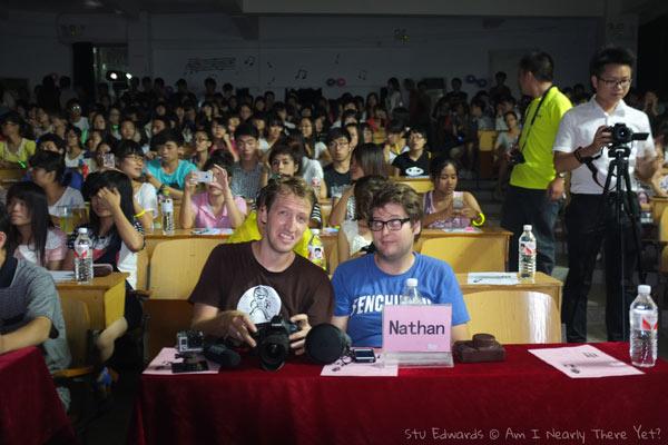 VIP judges at a random event!