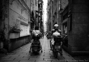 Wuhou streets China