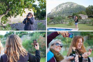 Travel Bloggers having fun in Mallorca