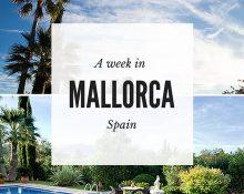 A week in Mallorca