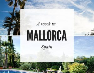 A week in Mallorca