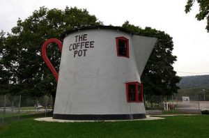 The coffee pot