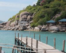koh samui beach jetty