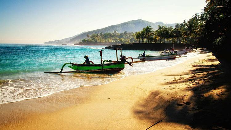 bali fishing boat