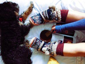 wrap up cozy