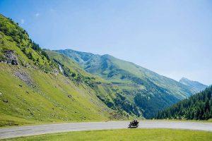 mountain motorbike adventure