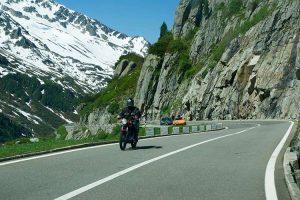 mountain motorbike trip