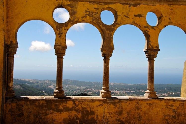 portugal mountain scene