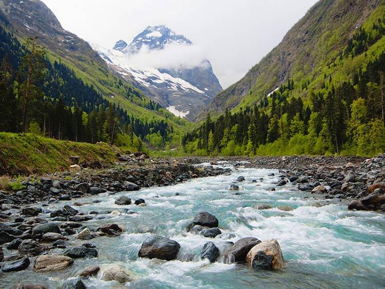 adventure in caucasus