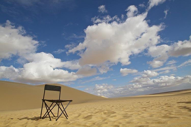 deserted on island