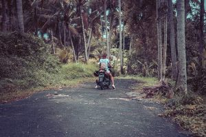 backpacker scooter